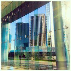 Reflection. #lines #pattern #light #glass #instagood #instamood #la #california  (at Century City, California)
