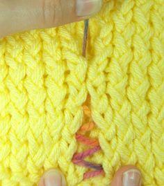 The Mattress Stitch