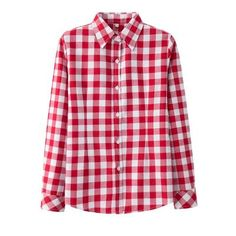 Women's Clothing Able 2019 New Women Plaid Shirts Autumn Long Sleevs Turn-down Collar Chemise Femme Button Elegant Casual Oversize Shirt Top Red/black Cheap Sales
