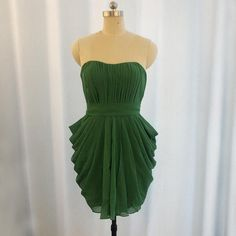 Long Sleeve Evening Dresses, Ball Gowns Evening, Prom Dresses Long With Sleeves, Dresses Short, Strapless Dress Formal, Formal Dresses, Green Bridesmaid Dresses, Sparkly Prom Dresses, Cheap Wedding Guest Dresses