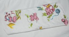Retro flower pantyliners cloth pad by leonorafi on Etsy