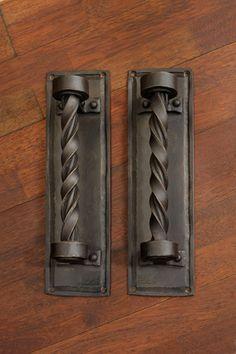 Braided Twist Handles, custom metal, custom iron, business accessories