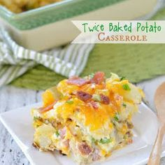Sausage Hash Brown Breakfast Casserole - hash browns, sausage, eggs & cheese - can be made ahead of time and refrigerated until ready! Sausage Hashbrown Breakfast Casserole, Twice Baked Potatoes Casserole, Corn Casserole, Crispy Potato Skins, Crispy Potatoes, 9x13 Baking Dish, How To Cook Sausage, Breakfast Recipes, Stuffed Peppers