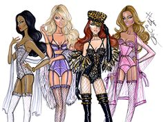 Sheer Perfection, Lovely in Lavender, Feline Fierce & Pretty in Pink by Hayden Williams