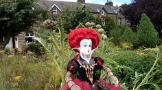 The Red Queen doll at tittybottle park otley. West Yorkshire. Photo by sally Heather Elizabeth Taylor 2016