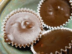 Nut Butter Coconut Oil Chocolate Cups