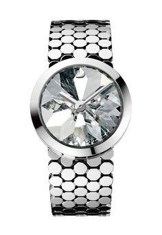 Tokujin Yoshioka's new watch design for Swarovski.