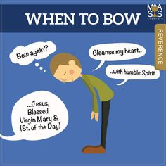 Do you know when to bow?