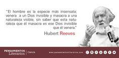 Hubert Reeves. Sobre Dios y la Naturaleza.