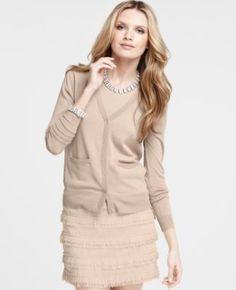 021da03cdb3 Love the Lace Skirt and great basic cardi! Lace Cardigan