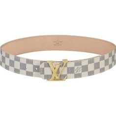 Louis Vuitton LV Initiales Damier Belt M9609W