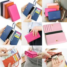New Multifunctional Envelope Wallet Purse Phone Case For Samsung Galaxy S2 S3