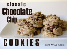 chocolate chip cookies - *very good*