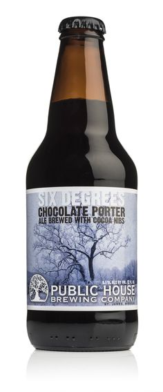 Public House Brewing   Six Degrees Chocolate Porter