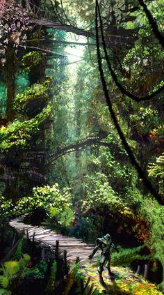 Environment - Maguuma Jungle