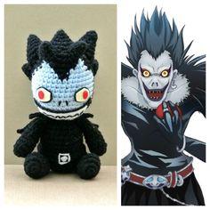 #ryuk #deathnote #リューク #デスノート #amigurumi #amigurumiaddict #crochet #crochetaddict #manga #mangafan #anime #animelover #animefan #animeotaku #otaku #nerd #geek #chibi #character #handmade #あみぐるみ #ハンドメイド #りんご好き #lightupthenewworld #デスノート2016 #ChibiAmi