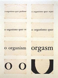 Organismo 1966 | Décio Pignatari