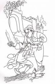 Unforgiving Servant Coloring Page