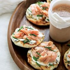 Inspired by the classic combination of bagels with lox and cream cheese, Tory Miller devised this variation using smoked, locally raised trout and hom...