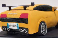 Lamborghini Cake   Flickr - Photo Sharing! Lamborghini Gallardo, Lamborghini Cake, White Lamborghini, Lamborghini Diablo, 6th Birthday Cakes, Boy Birthday, Teenage Girl Cake, Easy Unicorn Cake, Fathers Day Cake