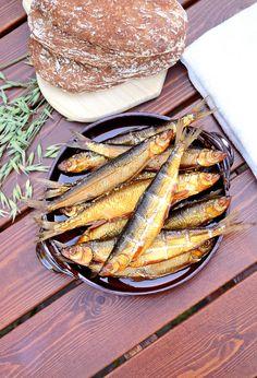Finnish Delicacy: Smoked Vendace