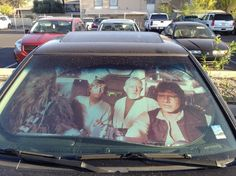 Millennium Falcon Auto Sun Shade  I want!!!