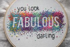 it's an EXPLOSION! of fabulousness. and i made it for you. to be in with a chance at winning this exclusive piece of hand embroidery, made by moi, just go enter my giveaway here…