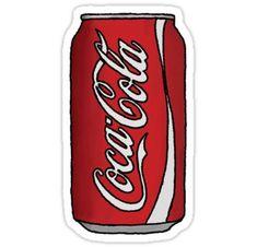 Coca Cola Can Sticker Coca Cola kann Aufkleber The post Coca Cola kann Aufkleber & sticker appeared first on Print . Preppy Stickers, Red Bubble Stickers, Food Stickers, Phone Stickers, Diy Stickers, Printable Stickers, Coca Cola Can, Wallpaper Stickers, Tumblr Stickers