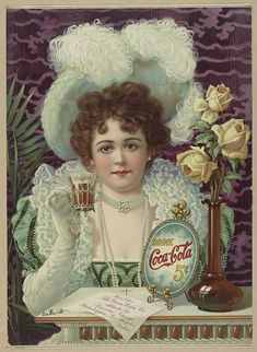 Recently we had posted article about vintage Pepsi Cola advertising. Most of us are well aware about the Cola War. So we thought it would be a great idea to share some of vintage Coca Cola ads also… Posters Vintage, Vintage Advertising Posters, Images Vintage, Retro Poster, Old Advertisements, Poster S, Art Posters, Food Advertising, Print Advertising