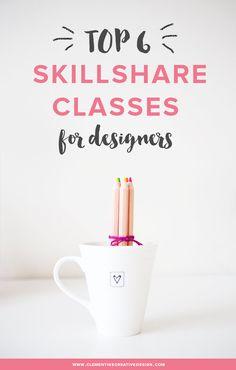 Top 6 Skillshare Classes for Designers