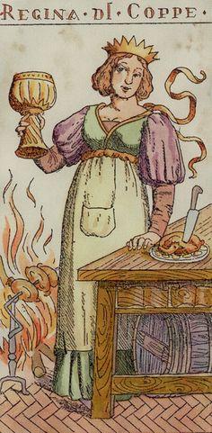 Regina di Coppe (Queen of Cups Tarot Card)