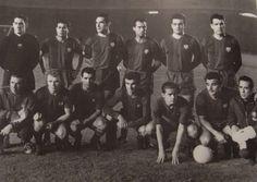 23/11/1960: Barça 2, Madrid 1. Ramallets, Olivella, Garay, Gràcia, Vergés, Segarra, Kubala, Evaristo, Kocsis, Suárez i Villaverde. El Barça es converteix en el primer equip que aconsegueix eliminar el R.Madrid de la Copa d'Europa (havien guanyat les 5 primeres edicions consecutivament)