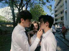 2moons The Series, Drama Series, Touch Love, Thai Drama, Aesthetic Boy, We Meet Again, Cute Gay, Asian Actors, Fujoshi