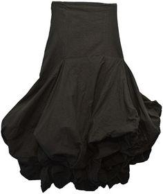 High Waisted Ruffle Skirt.