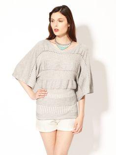Knit Drop Stitch Sweater by Plenty By Tracy Reese on Gilt