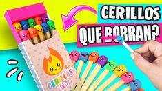 DIY ★ CERILLOS Kawaii QUE BORRAN!! ✔★ Así o Más Fácil ★ Ideas Faciles Pa...