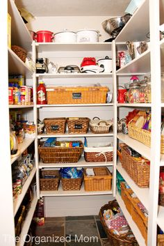 5 Tips for Organizing Your Pantry | How to Organize your Home, Family, and Life | The Organized Mom