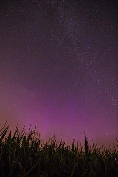 Aurora Borealis over Iowa