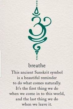 Our breath is the most powerful tool we have. We just take it for granted. #meditation #mindfulness #sound healing #breathwork