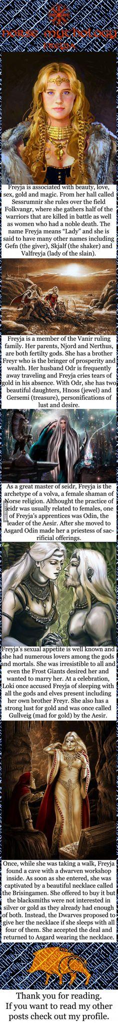 Norse mythology - Freyja