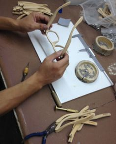 gafas de sol polarizadas de madera de bambu #soniapew hechas a mano y personalizadas por el cliente