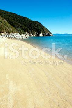Whariwharangi Seascape, Abel Tasman National Park, New Zealand royalty-free stock photo Abel Tasman National Park, Image Now, Wilderness, New Zealand, National Parks, Scenery, Royalty Free Stock Photos, Beach, Water