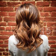 Balayage and flamboyage combo! Killer! Done by Kathryn Saunders at Chakras Spa in Greensboro, NC  #balayage #brunette #naturalcolor #flamboyage #davines #natural #nofilter #hair #haircut #haircolor #hairspo #healthyhair #hairbykkathrynn #chakrasspa #greensboro #gso #dgso