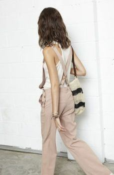Nude overalls