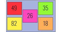 Aangezien veel kinderen nog moeite hebben met het springen van de tientallen (56-46-36) heb ik een spel gemaakt om dit te oefenen.