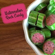 A delighting mouthful of sweet juicy watermelon encapsulated in these fruit shaped candies. Sugar Shack Confectionery has a range of handmade rock candy to suit any occasion. With a large variety …