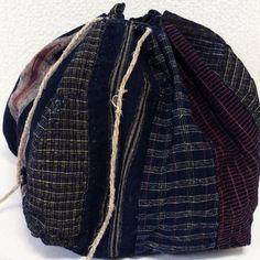 Antique Japanese Komebukuro Rice Bag