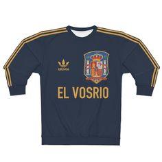 Crew Neck Sweatshirt, Unisex, Sweatshirts, Tops, El Greco, Trainers, Sweatshirt, Sweater, Hoodie