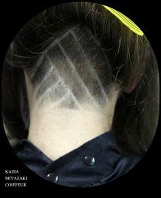 Katia Miyazaki Coiffeur - Salão de Beleza em Floripa: undercut -  feminino - desenho feito a navalha - c...