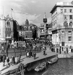Karaköy,İstanbul ,1946 By Robert Çapa